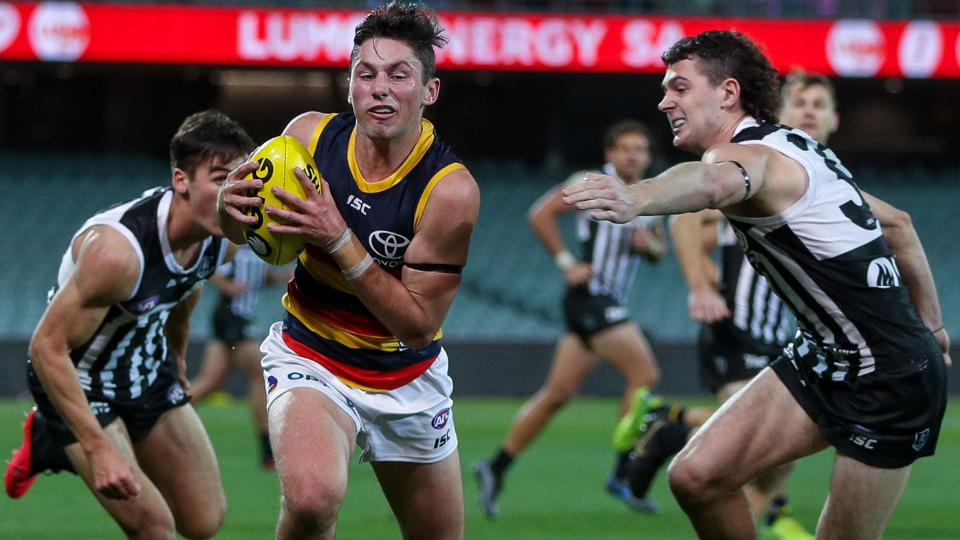 Adelaide Crows played bruise-free footy, says coach after 75-point Showdown loss