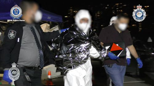 Australian police raid drug boat on high seas