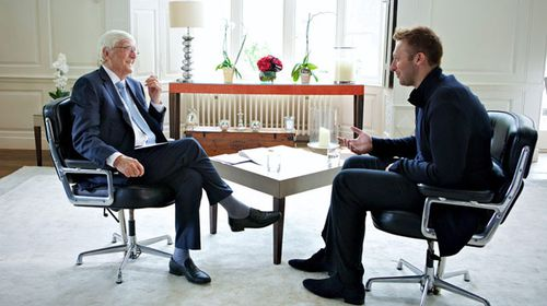 Michael Parkinson interviews Ian Thorpe. (Channel 10)