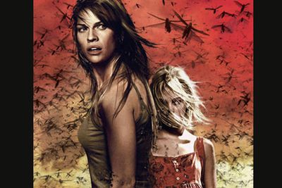 <b>Movie:</b> <i>The Reaping</i><br/>Biblical plagues attack! Hilary Swank plays myth-buster extraordinaire! This universally panned religious horror film reaped no rewards from its talented double-Oscar winner lead Swank, who should've known better. Not so swanky!