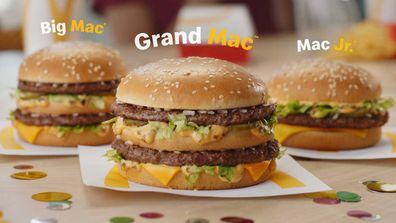 McDonald's brings back cult Grand Mac and Mac Jr burgers