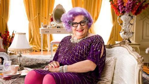 Watch: Dame Edna talks tapeworms and coffee enemas in Jenny Craig promo