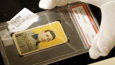 1909 T206 Honus Wagner Card