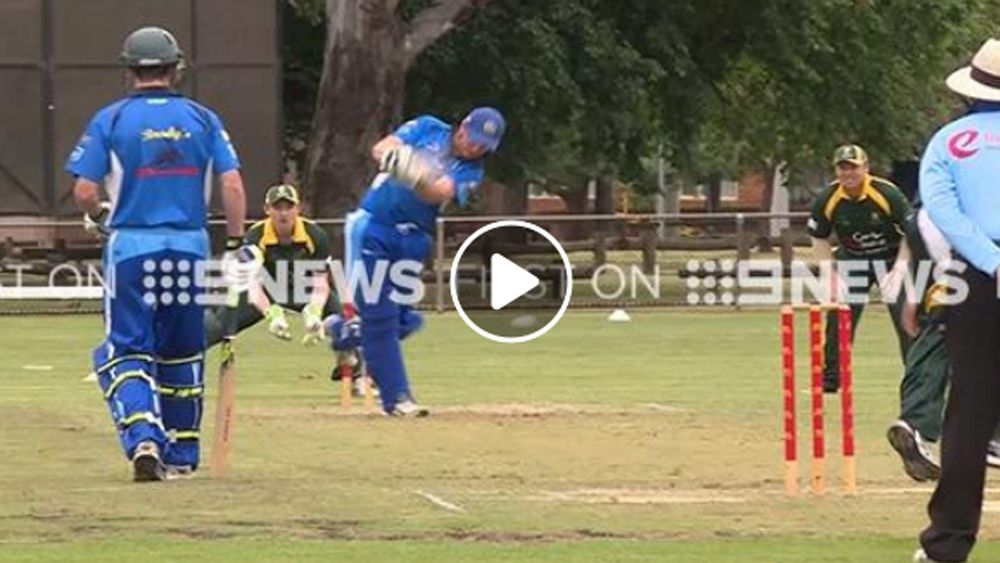 Club cricket team pull off miraculous wicket