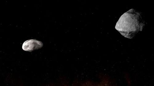 The asteroid 1999 KW4 will swing past Earth.