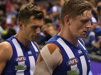 Bombers down North Melbourne