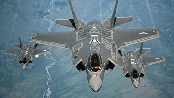 America's coronavirus support package could include funding for more F-35 fighter jets.