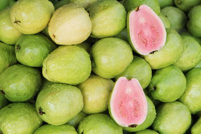 Guava: 9g sugar per 100g