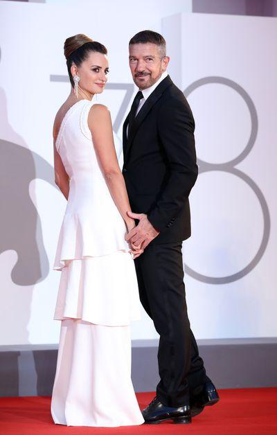 Penelope Cruz and Antonio Banderas