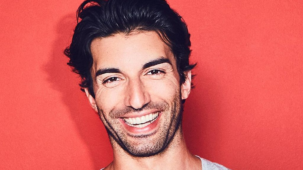Calm down: Actor Justin Baldoni shared a picture of his daughter having a tantrum - with a message for all of us. Image: Facebook