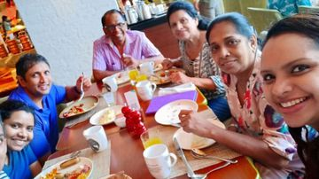 Television chef Shantha Mayadunne and her daughter Nisanga Mayadunne were killed in the explosion at the Shangri-La Hotel in Colombo, according to two family members.