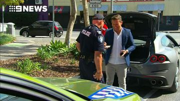 Steve Jacobs pulled over for RBT