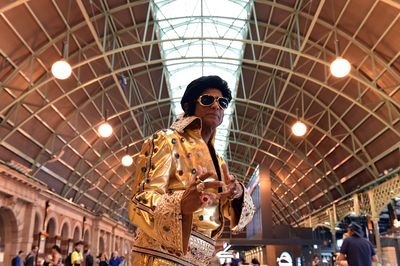 <strong>Revellers head to iconic Elvis festival to celebrate The King</strong>