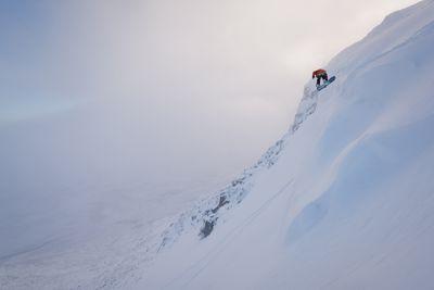 <strong>7. Skiing up, snowboarding down &ndash; Sunnm&oslash;re Alps, Norway</strong>