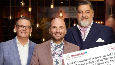 MasterChef's judges Matt Preston, Gary Mehigan and George Calombaris have left the show