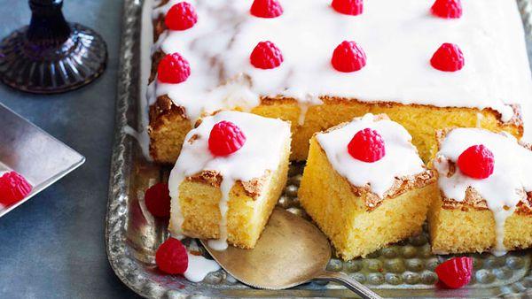 Tray bake for school birthdays
