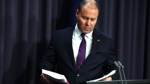 Treasurer Josh Frydenberg at a press conference in response to the releasing of the Banking Royal Commission findings at Parliament House in Canberra.