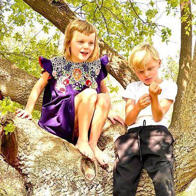 Princess Gabriella and Prince Jacques.
