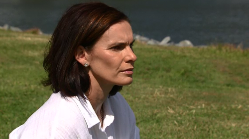 Sonya Leeding has told 9News about her struggle ten years later after partner Damian's death.