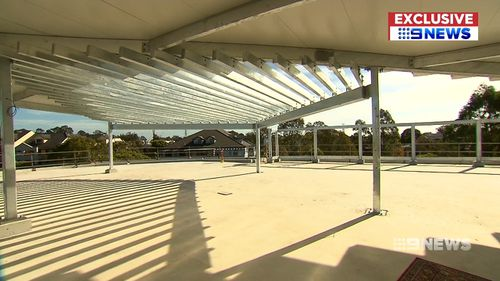 Space is a real problem for the six hundred students at Homebush West Public School. Picture: 9EWS