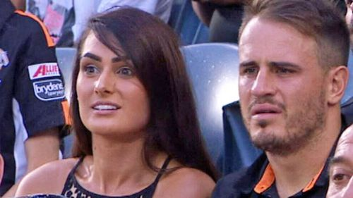 NRL star Josh Reynolds (right) and Arabella del Busso.