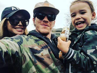 Naya Rivera, Ryan Dorsey, son Josey, family, photo, Instagram