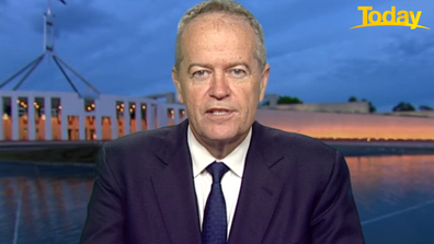 Bill Shorten told Today the Federal Government has a responsibility to protect citizens.