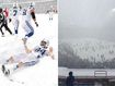 Fans freeze as blizzard turns NFL game into complete white-out