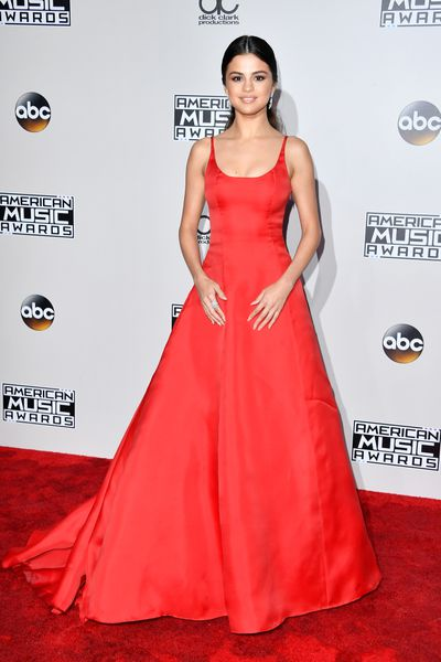 Selena Gomez in Prada at the 2016 American Music Awards
