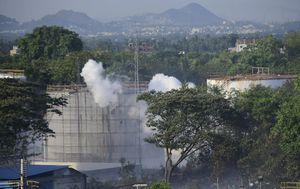 Gas leak at polystyrene factory in India kills 11, hospitalises hundreds