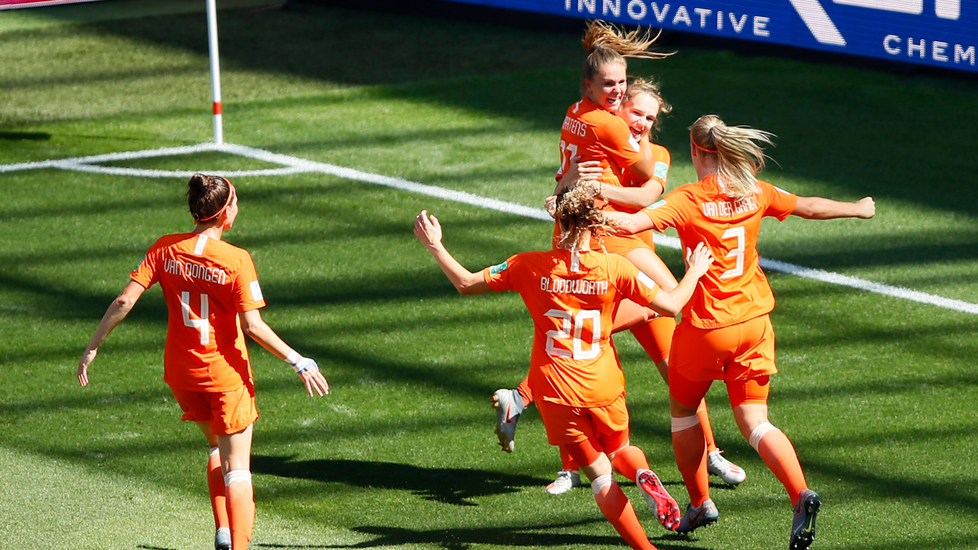 Netherlands defeats Italy to reach FIFA Women's World Cup semi finals