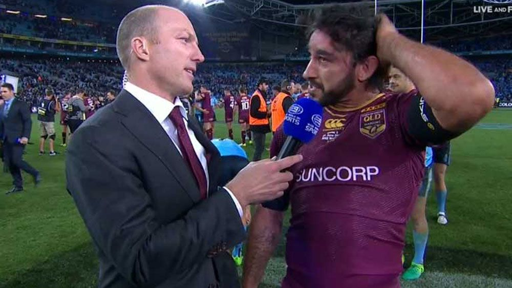 Thurston says injured shoulder is 'a little bit tender' after last gasp win over Blues