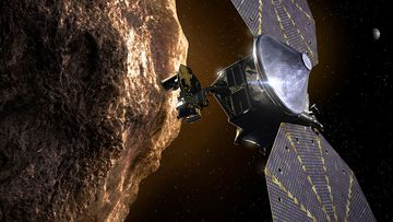 Lucy spacecraft NASA asteroids space mission