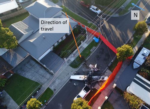 A preliminary Australian Transport Safety Bureau report released this morning found no evidence of a mechanical engine failure. Picture: Supplied by ATSB