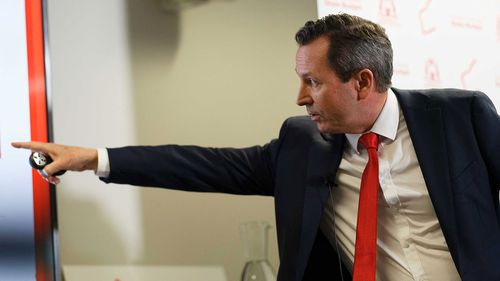 WA Premier Mark McGowan has touted a massive surplus on the back of iron ore royalties.