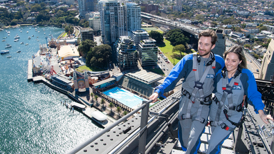 BridgeClimb introduces Ultimate Climb, scaling north side of the Sydney Harbour Bridge