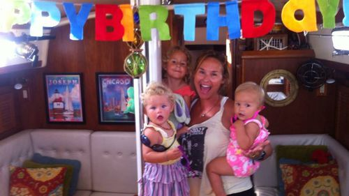 The family celebrated Brittany's last birthday on board together. (Facebook)