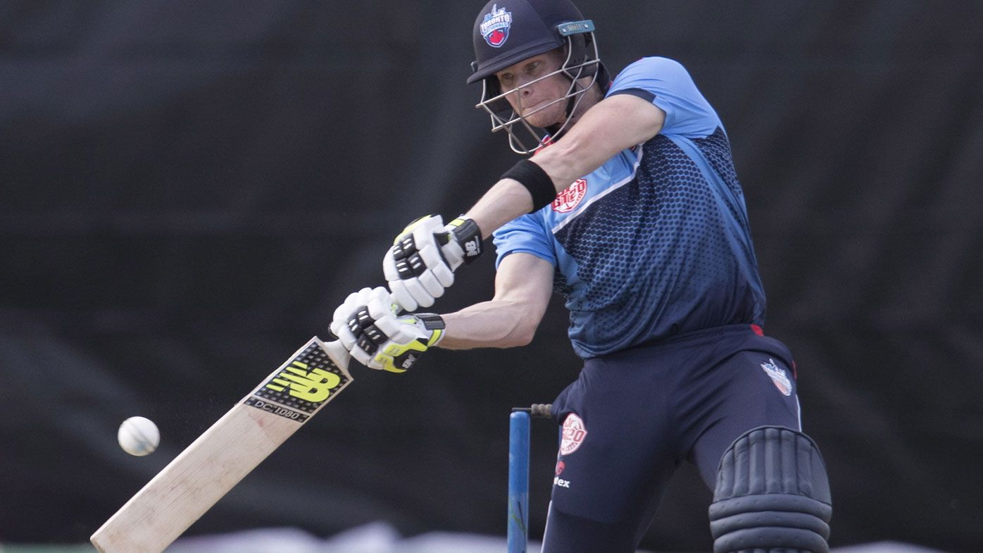 Steve Smith bowled in second match at Global T20 Canada