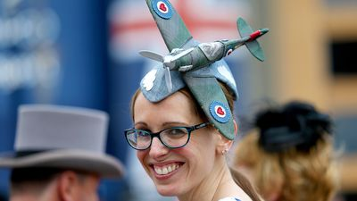 <p>Rebecca Sharrock during day four of the 2015 Royal Ascot Meeting. (AAP)</p>