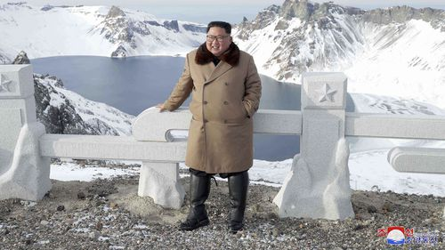 The mountain is the highest peak on the Korean Peninsula, and Kim has previously gone there before making major decisions.