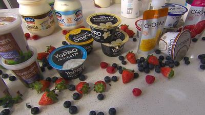 Greek and natural yoghurts have the least sugar — and organic has among the highest