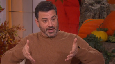 Jimmy Kimmel opens up about a scary incident he had at a barbecue.