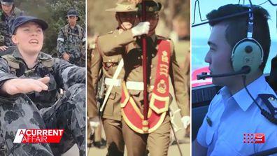ADF recruits