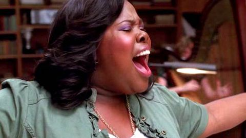 Glee pays tribute to Whitney Houston with 'I Will Always Love You'