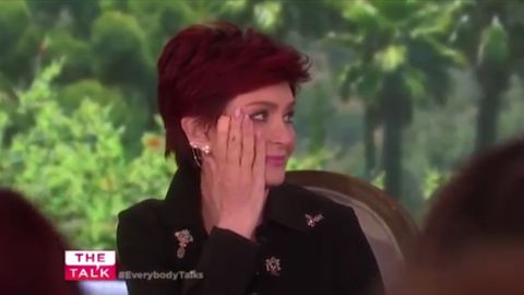 Ozzy Osbourne Surprises Sharon Osbourne With Major PDA