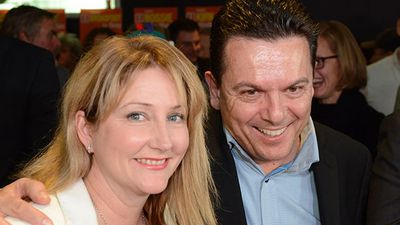 <strong>WINNER</strong><br> Rebekha Sharkie (NXT, Mayo, SA) - first Nick Xenophon Team lower house MP.