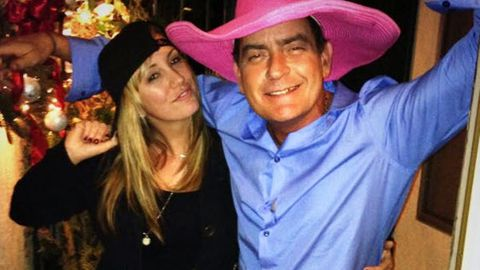 Charlie Sheen's adult film star fiancée in a rush to have his babies
