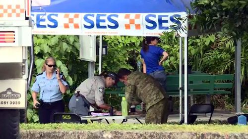 Police, 20 SES volunteers, Defence and National Parks and Wildlife crews were involved in the search. Picture: 9NEWS