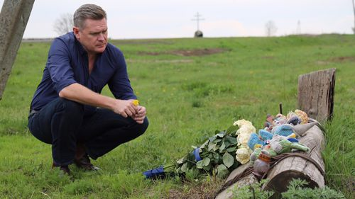 Michael Usher and his crew traveled to the Ukraine to track the culprits. (60 Minutes)