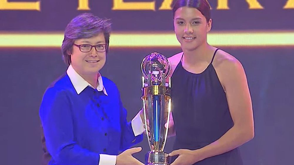 Kerr named Asian player of the year